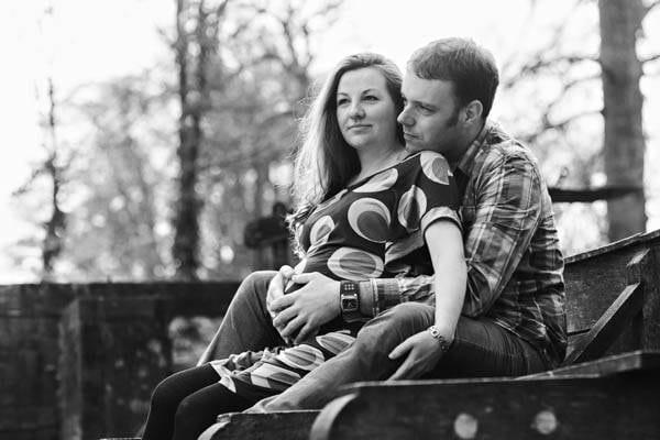 Zwangerschapsfotografie bij Landgoed Staverden in Ermelo