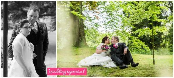 De trouwreportage van Susanne en Wim op kasteel Staverden in Ermelo