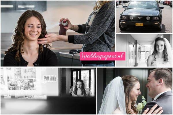 Ophaalmoment bruiloft Culemborg