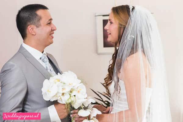 Eerste ontmoeting bruidspaar
