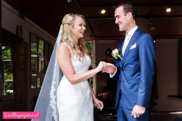 Huwelijksvoltrekking Putten Landgoed Schovenhorst