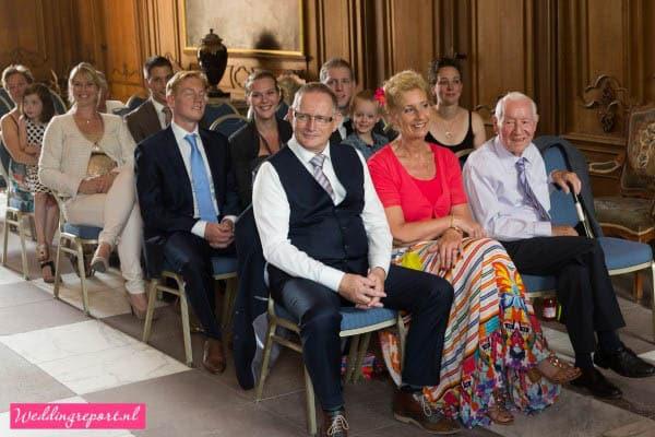 Huwelijksvoltrekking in de Cannenburch in Vaassen