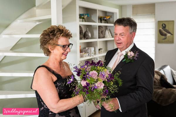 Bruidsboeket bruidspaar