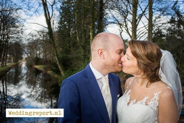 Trouwfoto 's-Graveland van trouwfotograaf in Hilversum