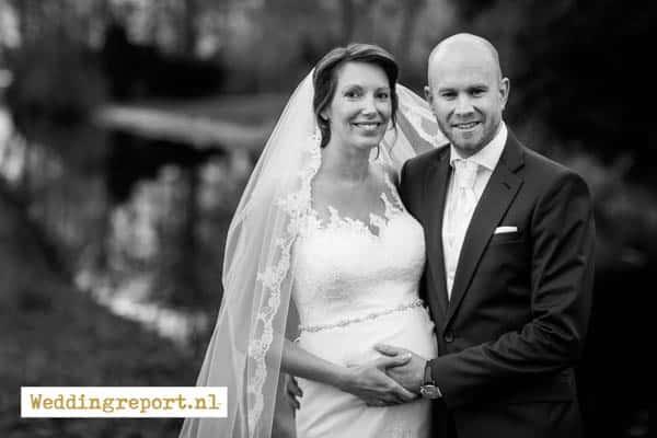 Trouwfoto 's-Graveland trouwfotograaf in Hilversum