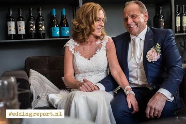 Bruidsportret in Kasteel de Schaffelaar in Barneveld